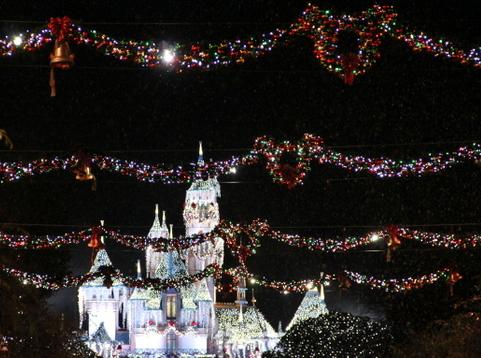 Thanksgiving travel with kids to Disneyland California