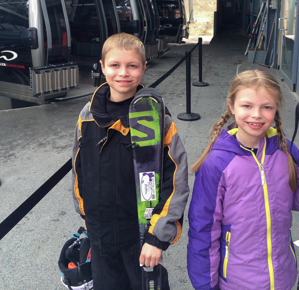 vacation to Whistler with kids