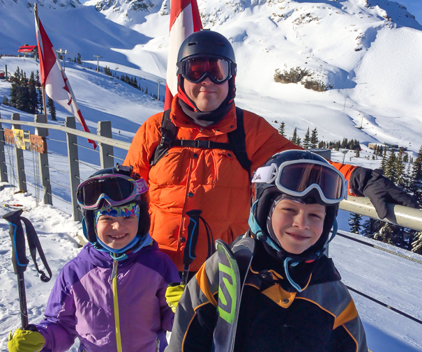 Skiing Whistler with kids