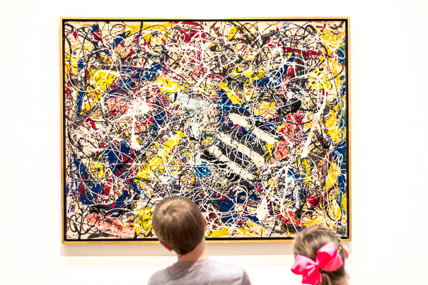 Art Institute of Chicago - visiting Chicago with kids.