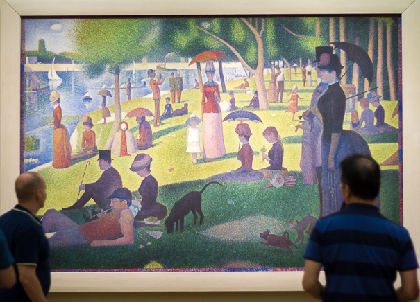 Georges Seurat at the Art Institute of Chicago - Chicago with kids.