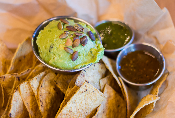 Chips and guac at Cruz Blanca - things to do in Chicago this weekend