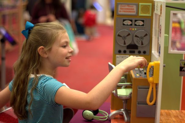 Playing with the vignettes at American Girl Place