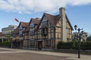 William Shakespeare's birthplace - Stratford-Upon-Avon