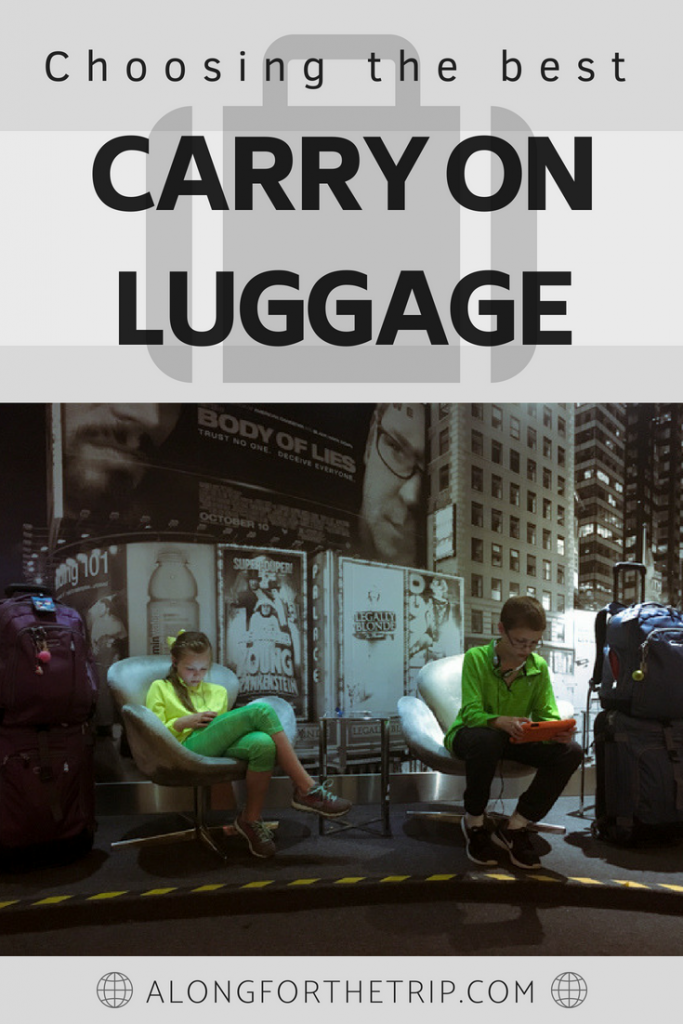 Finding the best carry on luggage can be challenging. In this guide, we've compared some of the best for you so you can spend less time planning more time traveling knowing you made a great choice. We know time is important, so we'll guide you through the process quickly finding the best carry on bag for you. | #familytravel #kidstravel #familytrip #carryon #luggage