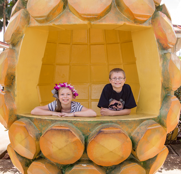 Best things to do in Hawaii with kids - Dole Plantation Oahu Hawaii