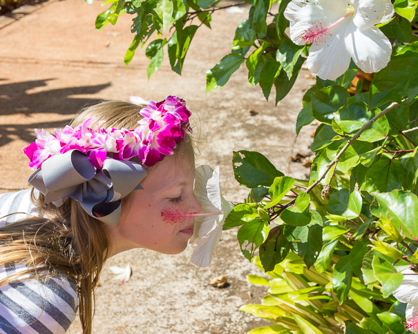 Visiting the Dole Plantation Oahu Hawaii with kids