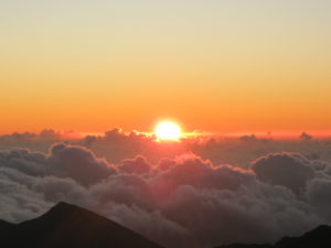 Visiting Haleakala National Park Maui Hawaii with kids