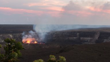 Hawaii Volcanoes National Park Sunset