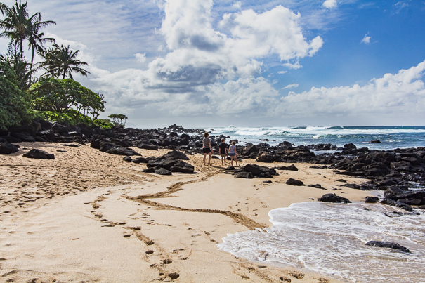 North Shore Oahu Hawaii with kids