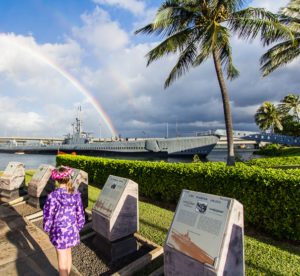 WWII Valor in the Pacific Monument Hawaii with kids
