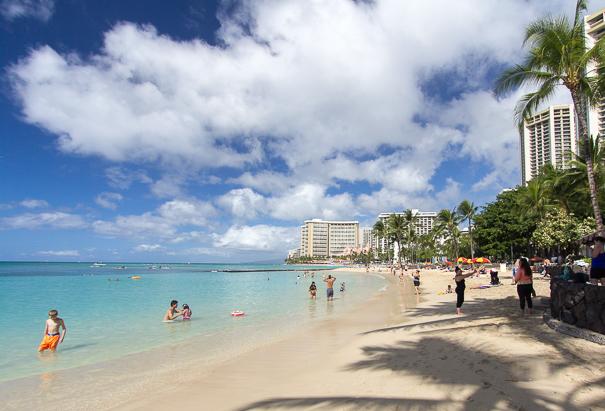 Waikiki Beach - Hawaii with kids