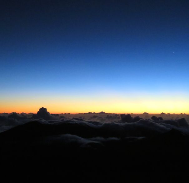 Dawn at Haleakala National Park