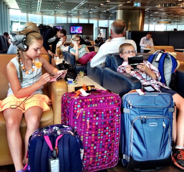 Great Carry-On Luggage is easy for kids to handle.