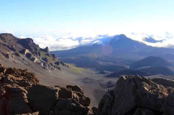Haleakala Crater at Haleakala National Park, Maui