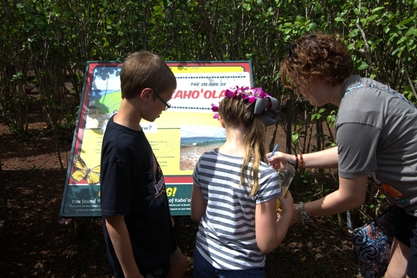 Pineapple Maze at the Dole Plantation with kids
