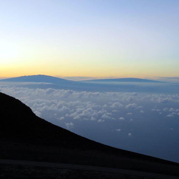 Sunrise at Haleakala National Park, Hawai'i