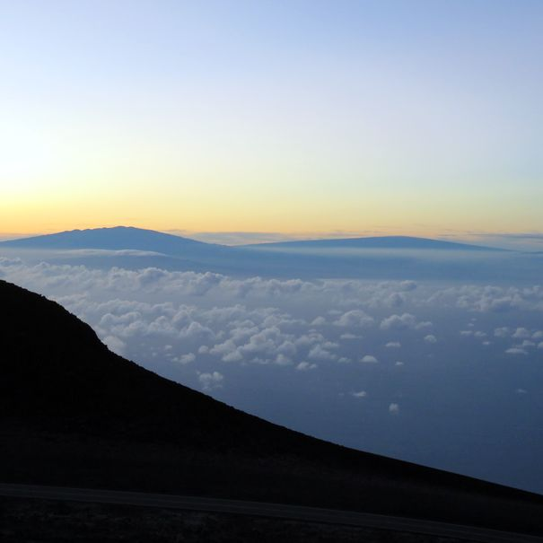 Sunrise at Haleakala National Park, Hawai'i