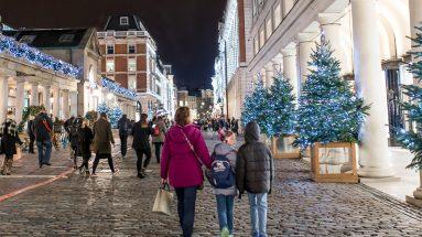 Convent Garden London Christmas