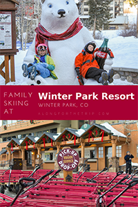 Skiing with kids at Winter Park Colorado