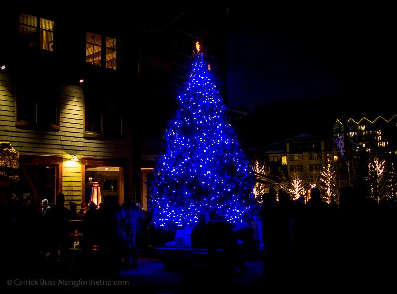 Christmas in Winter Park Colorado