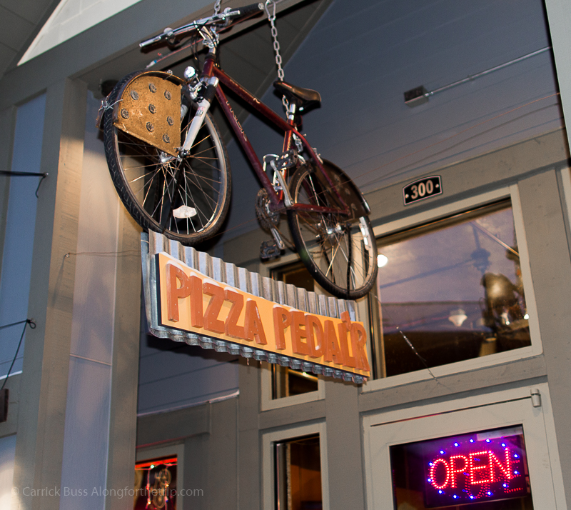 Pizza Pedal'r pizza Winter Park