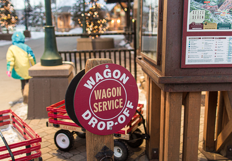 Winter Park slopes are just a wagon ride away.