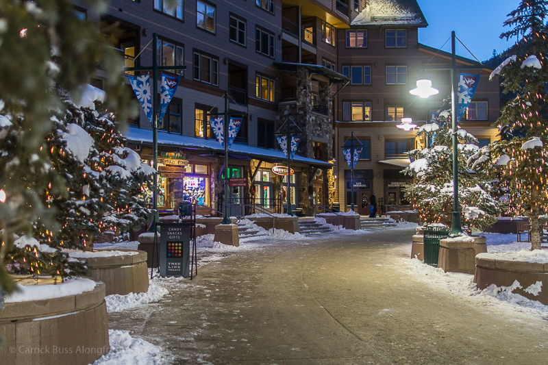 Winter Park CO resort village.