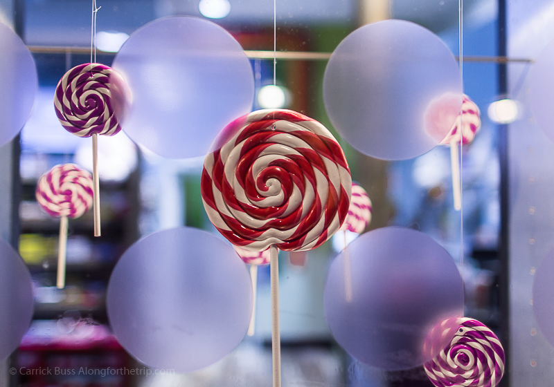 Lollipops at the Winter Park Resort shops
