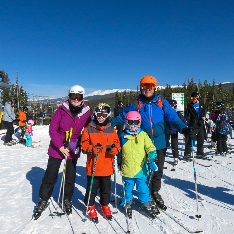 A Winter Park ski trip is fun for the entire family.