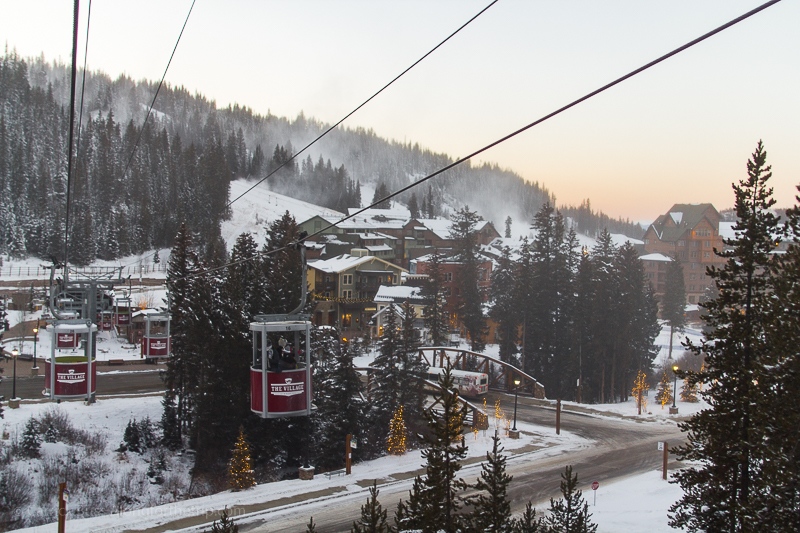 The Village of Winter Park from the Cabriolet lift