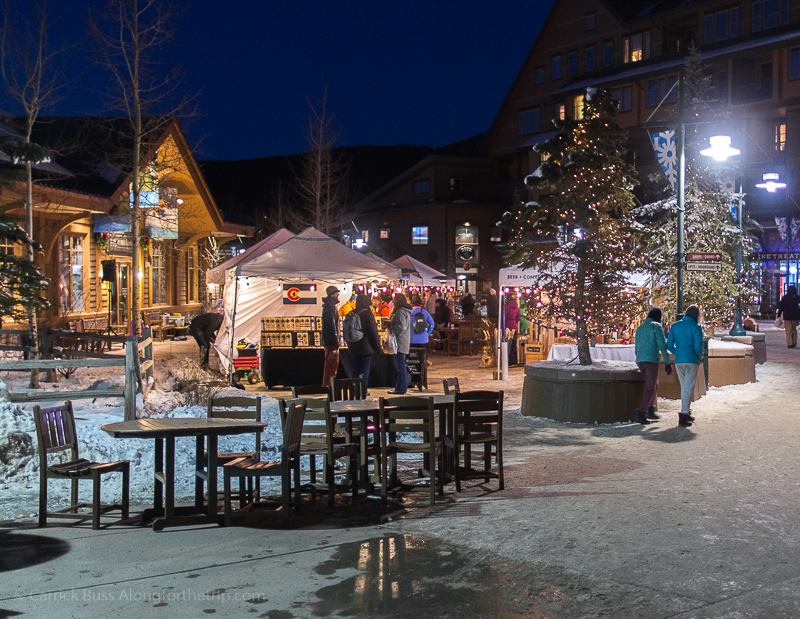 Visit the Holiday Market - things to do in Winter Park with kids