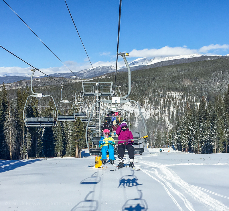 skiing in Winter Park