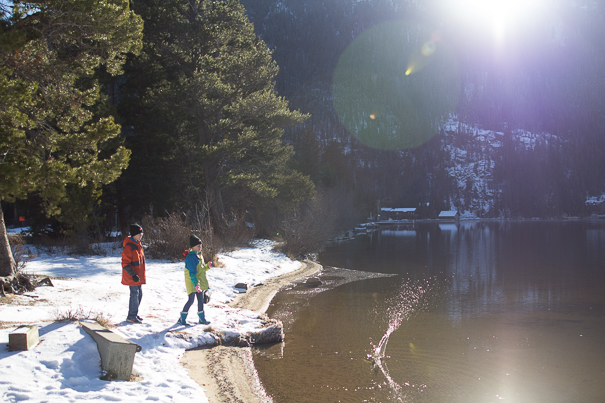 Visiting Grand Lake in Rocky Mountain National Park with kids