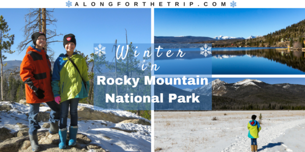 Rocky Mountain National Park with kids in winter