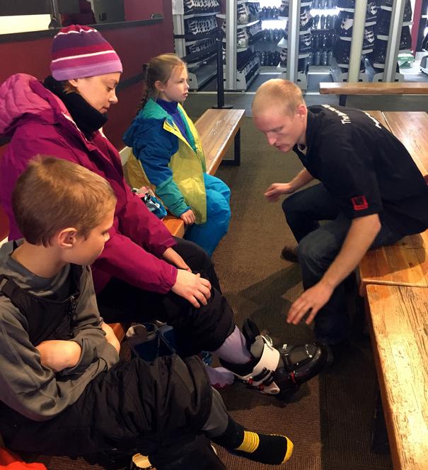 Ski shop at Winter Park Resort