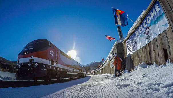Winter Park Express from Denver
