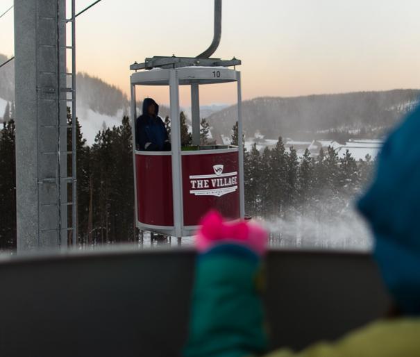 Winter Park Resort Cabriolet lift