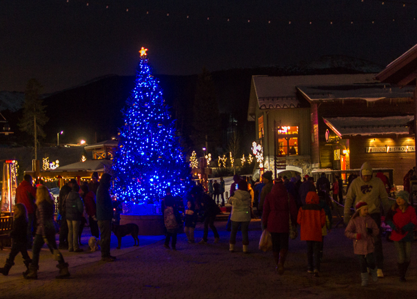 Winter Park Resort Christmas Tree