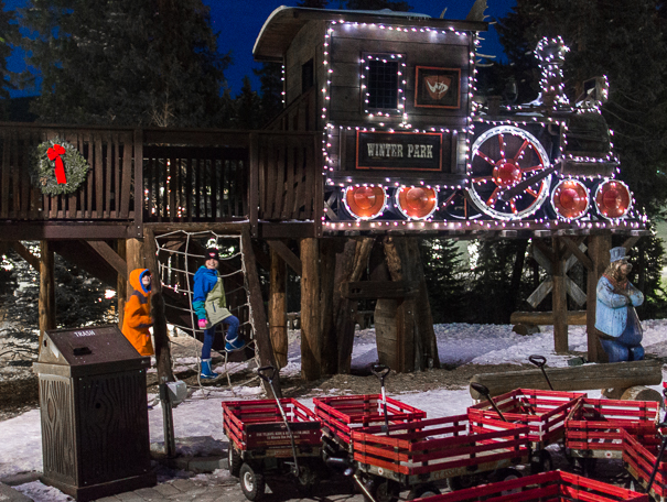Best things to do in Winter Park Resort - village train playground