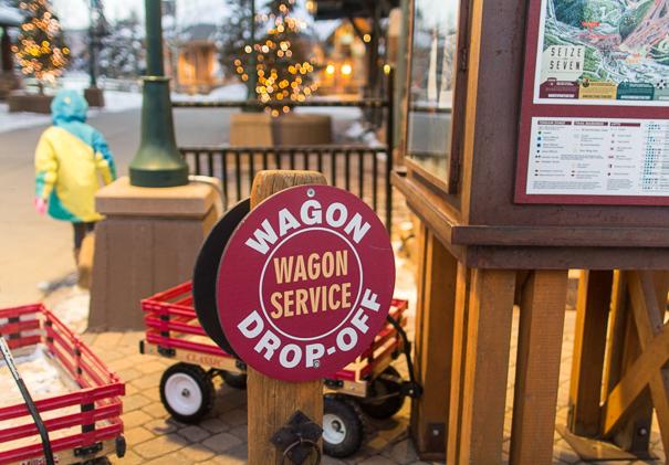 Winter Park Resort Wagon drop off