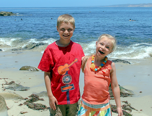 Exploring La Jolla with kids