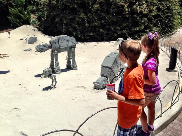 Star Wars at Legoland California.