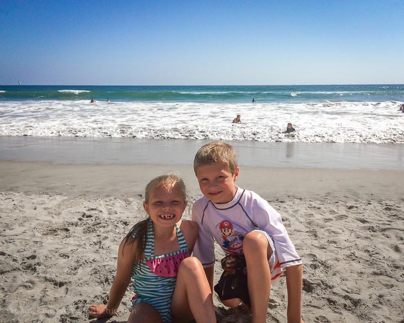 San Diego beaches for kids