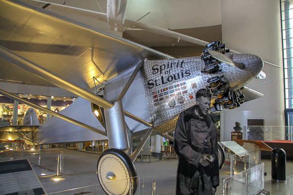 San Diego with kids - Spirit of St. Louis at the Air and Space Museum