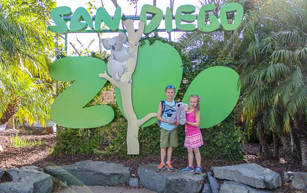 San Diego Zoo - San Diego with kids