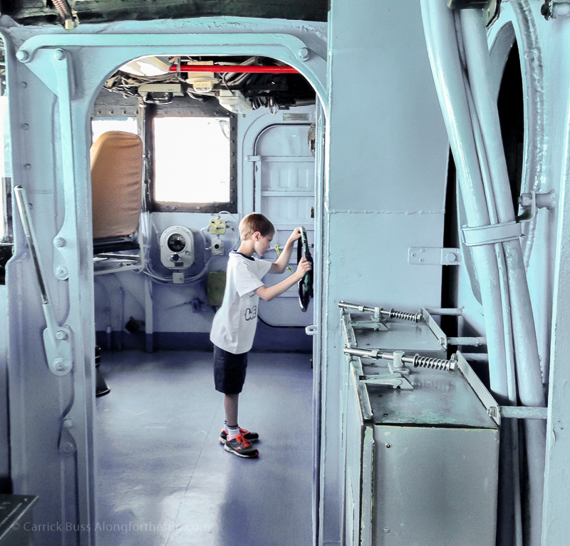 Driving the USS Midway - amazing things to do in San Diego
