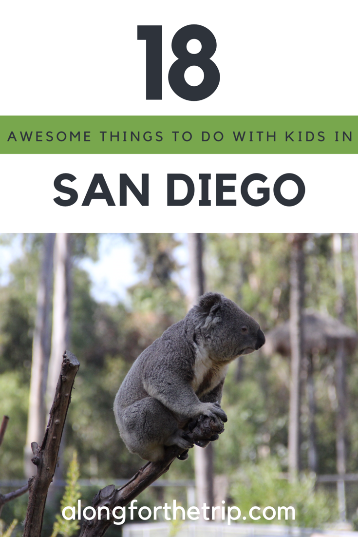We found San Diego to be one of the very best cities for families. We couldn't do it all, but here's 18 awesome things to do in San Diego with kids.