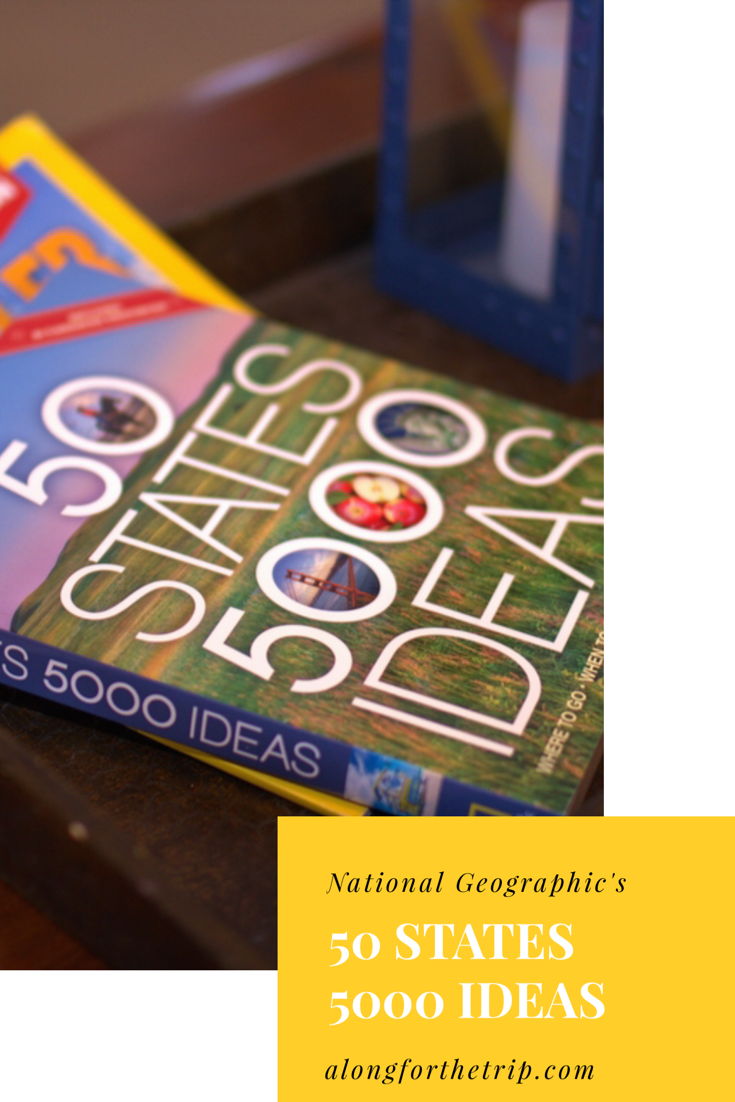 Need some travel inspiration? Check out National Geographic's 50 States 5000 Ideas. It takes a look at fun and interesting things to see and do in every state in the US. It's perfect for families and road-trippers! | #travel #roadtrip #ustravel