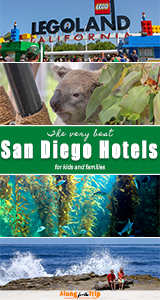 Reviews of the best family hotels in San Diego